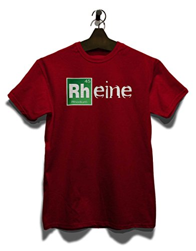 Rheine T-Shirt Bordeaux