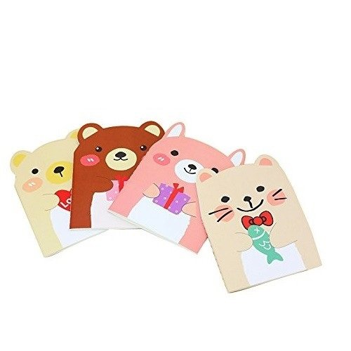 mini-animal-style-note-pads-notebooks-with-lined-pages-4-pack