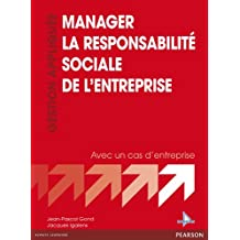 Manager la Responsabilité Sociale de l'Entreprise