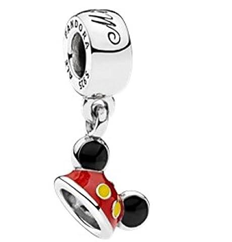 Pandora Disney Mickey Ear Hat Dangle 792121ENMX