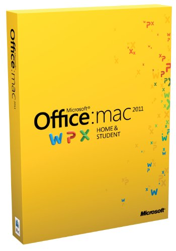 Office für Mac 2011 Home & Student (1 Pack / deutsch) (Office 2010 Student Edition)