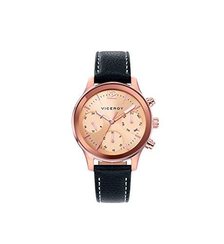 Viceroy Reloj Multiesfera para Mujer de Cuarzo con Correa en Cuero 471138-95