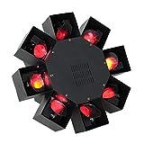 Ibiza LED-OCTOPUS Effekt-Strahler, Schwarz