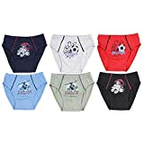 TupTam Jungen Unterhosen Slips o. Boxershorts 6er Pack, Farbe: Farbenmix 5, Größe: 140-146