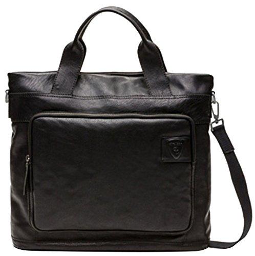 Strellson Balham Shopper 4010000157 Herren Henkeltaschen 37x37x10 cm (B x H x T), Schwarz (black 900) Schwarz (black 900)