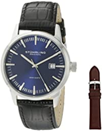 Stuhrling Original Classic Analog Blue Dial Men's Watch - 555A.04