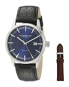 Stuhrling Original Classic Analog Blue Dial Men's Watch - 555A.04