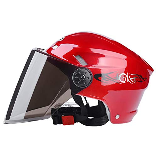 Qwer Outdoor Reithelm Red Helm Bioe Herren Bike Road schwarz wo for Red Cycling Light Fahrradvisier Case