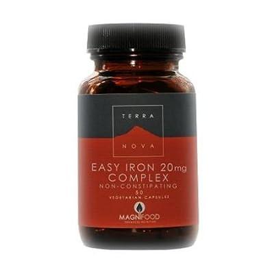 Easy Iron 20mg Complex (50 caps) from Terranova