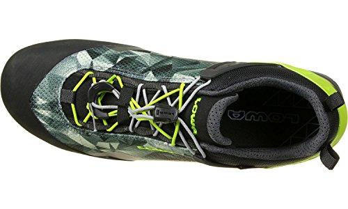 Lowa Approach Pro GTX Lo Approachschuhe schwarz neon grün
