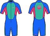 Yello Puffer Shorty–Traje de neopreno infantil, para niños, traje de neopreno para traje de neopreno, color , tamaño Age 1 Puffer
