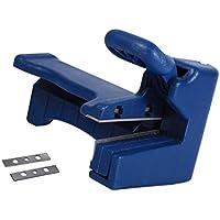 Sharplace Tragbare Metall Manuelle Kantenanleimmaschine Cutter Trimmer Schnittkante Holzbearbeitungswerkzeug, Dunkelblau