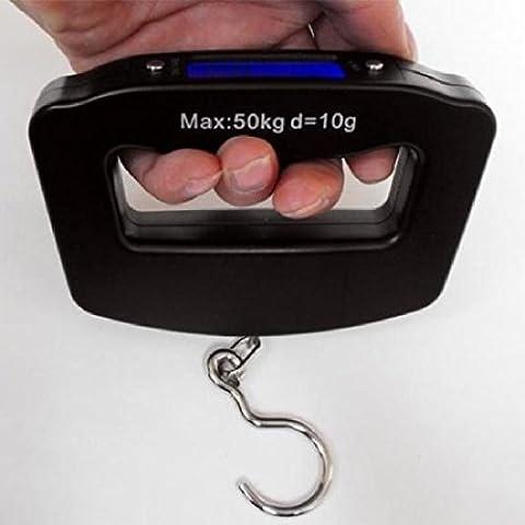 50Kg / 10g Mini LCD Balances multifonctions numériques Baguettes suspendues Voyager Cuisine Accueil Maison Pêche Balance Scale