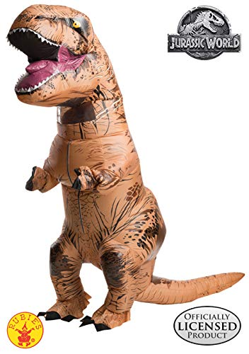 Halloween Kostüm Jurassic World - Rubie's Aufblasbares T-Rex-Dinosaurier-Kostüm, Jurassic World, für