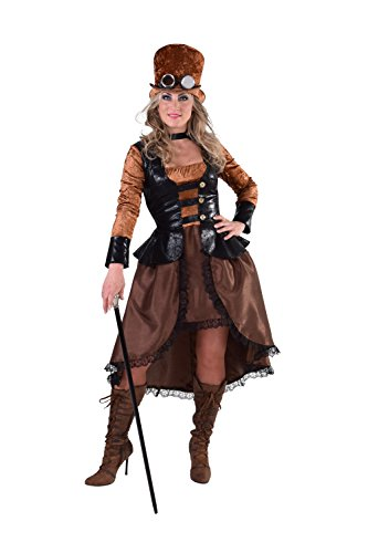 M216179-L Damen Steampunk Piraten Kostüm Gr.L
