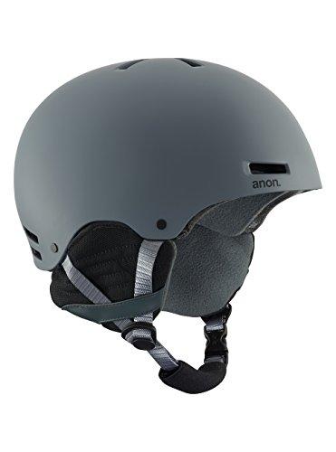 Anon Herren Raider EU Snowboardhelm, Gray EU, M