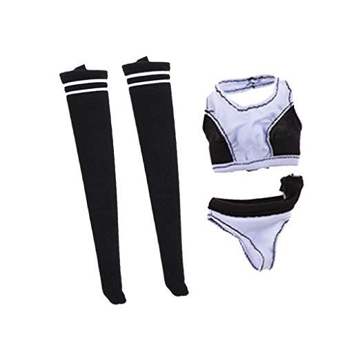 Hellery Simulation Sportbekleidung Unterwäsche Und Strümpfe Im Maßstab 1/6 Für 12 \'\' Hot Toys