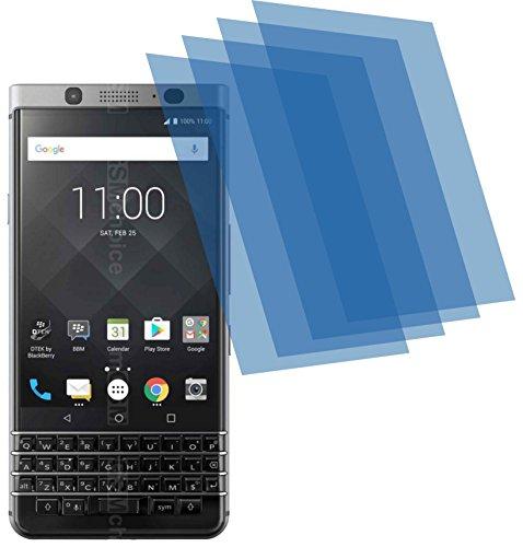 4ProTec 4X GEHÄRTETE ANTIREFLEX matt 3D Touch Schutzfolie für BlackBerry KEYone Bildschirmschutzfolie Schutzhülle Displayschutz Displayfolie Folie