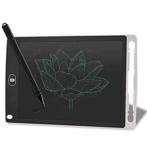 BABIFIS Tablero de Escritura electrónico portátil del Tablero de la Pintura de la Pintada de los niños de la Tableta LCD de 8,5 Pulgadas White