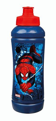 Undercover SPON9910 - Sportflasche Spiderman, 425 ml, blau