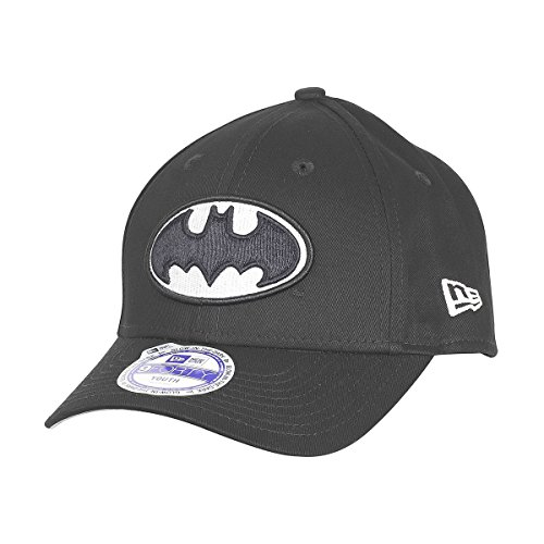 Gorra Niño New Era Batman Hero Glow In The Dark Negro-Optic Blanco (Default , Negro)