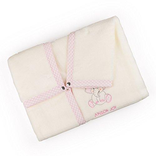 Junior Joy 6183PI Junior Joy Stickerei Agnes Baby-Verpackung, rosa