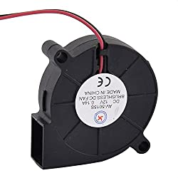 Uxcell a16011800ux1331 DC 12V 0. 14A Brushless Cooling Turbine Blower Fan Cooler 50x15mm