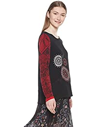Top Camicie Bluse it Desigual T Amazon E Shirt TwHvqn4