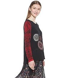 1476ddf90c3aeb Amazon.co.uk  Desigual - Blouses   Shirts   Tops