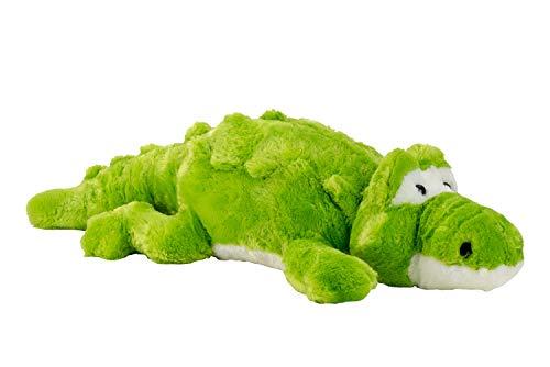 Lifestyle & More Großes Krokodil Kuscheltier Plüschtier grün XXL 100 cm groß und samtig weich - zum liebhaben