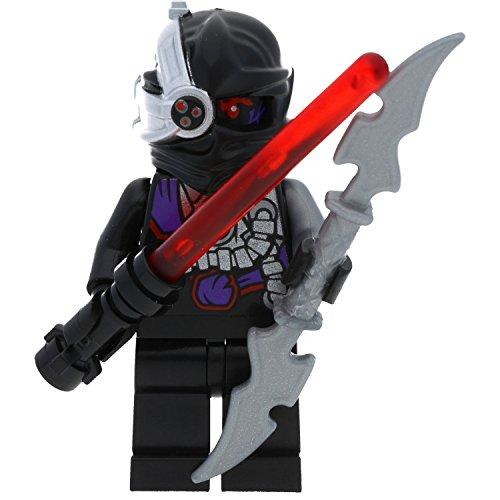 LEGO Ninjago Minifigur Nindroid Limited Edition mit Zwei GALAXYARMS Waffen