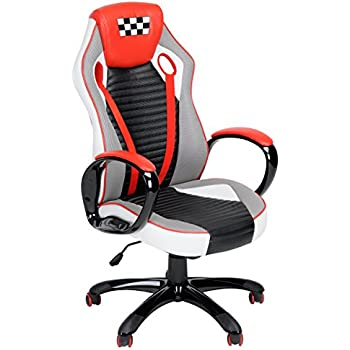 Fanilife Racing Chair Gaming Style High Back Pu Leather
