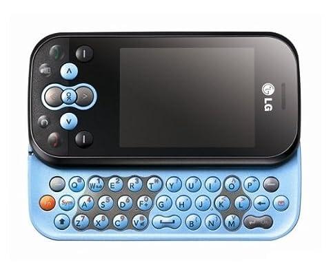Handy LG KS360 Aqua Blue Mit Branding Ohne Simlock