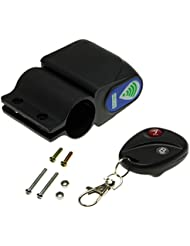 Adapter-Universe® Dispositif d'Alarme Vibration Sirène à Télécommande pour Vélo, Scooter