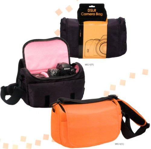 Mascagni Borsa per Foto e Video Camera 33x17x17 cm. Arancione