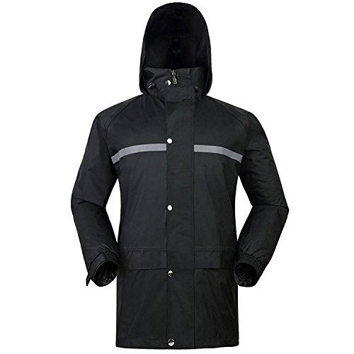 SANKE Heavyweight Regenanzug Wasserdichte Kapuzen Regenbekleidung (Jacke & Hosenanzug)