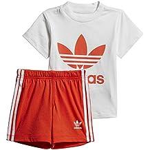 0f3f90582 adidas - Conjunto de pantalón Corto y Camiseta Unisex para bebé
