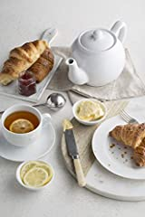 Idea Regalo - Price & Kensington - Teiera per 2 Tazze Bianco