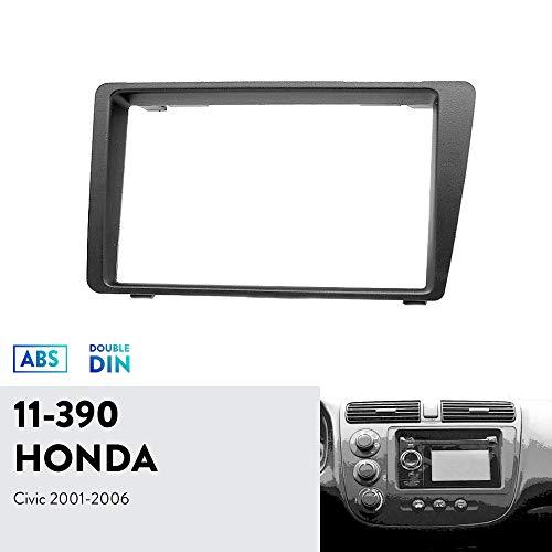 UGAR 11-390 Trim Fascia Car Radio Installation Mounting Kit for Honda Civic 2001-2006