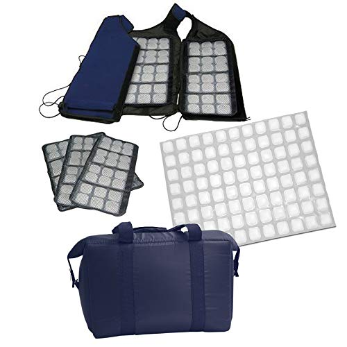 FlexiFreeze Personal Cooling Kit with Velcro Vest
