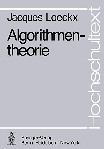Algorithmentheorie (Hochschultext)
