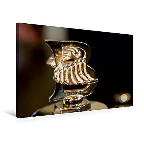 Premium Textil-Leinwand 75 cm x 50 cm quer, Bentley Kühlerfigur | Wandbild, Bild auf Keilrahmen, Fertigbild auf echter Leinwand, Leinwanddruck (CALVENDO Mobilitaet) (Bentley-kühlerfigur)