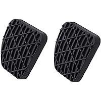 yanana 1 par de Embrague del Freno de Pedal Cubierta de Goma Negro Antideslizante Almohadilla de