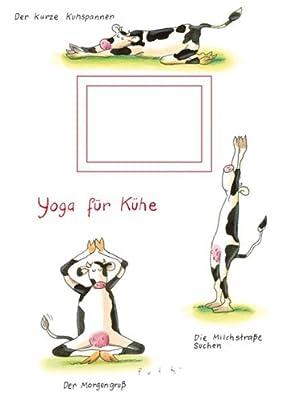 """Kladde A5 """"Yoga für Kühe"""" Rannenberg und Friends"""