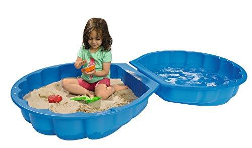 BIG 7711001 – Sand, Wassermuschel, blau