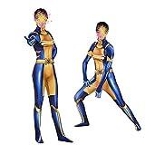 KLEIDEE Vestiti Cosplay X-Men X-23 Wolverine Daughter Costume Cosplay Lycra Siamese Calzamaglia Anime Costume 3D Digital Printing Tight Natale Halloween Fancy Dress per Abbigliamento per Adulti M