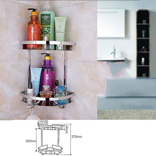 Yetta Regal-Toilettenablage Folding Towel Rack Badezimmer-Regal Edelstahl 304 Badezimmer-Hardware-Anhänger (Handtuchhalter/Handtuchhalter/Toilettenbürste/Stativ) Wandaufhänger (Shelf Hardware Folding)