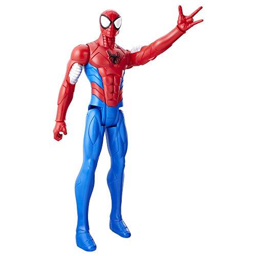 Marvel Spider Man Titan Hero Series Armoured Spider Man Figure