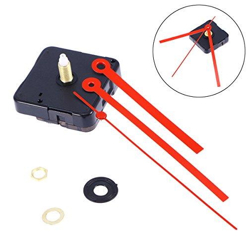 ULTNICE Leise Uhrwerk Kits Uhren Reparatur Ersatzteile für DIY Uhr - Uhrwerk-ersatz-kit