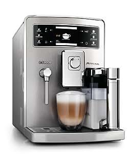Saeco HD8954/01 Xelsis Evo Kaffeevollautomat, integrierte Milchkaraffe, silber